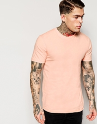 American Apparel Crew Neck T Shirt Summerpeach