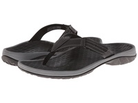 Vionic With Orthaheel Technology Harbor Black Men's Sandals