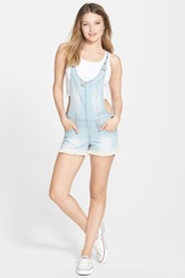 Jolt Denim Shortalls Blue