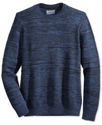 American Rag Men's Mix Stitch Sweater Only At Macy's Basic Navy