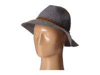 Michael Stars Oh My Darling Wide Brim Hat Heather Oxide Fedora Hats Black