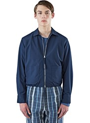 E.Tautz Core Zip Up Shirt Jacket Navy