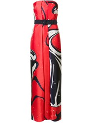 Solace 'Hannah' Maxi Dress Red