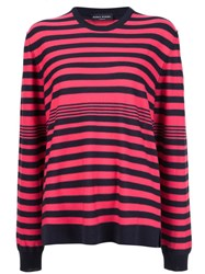 Sonia Rykiel Striped Jumper Pink And Purple