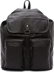 Marc By Marc Jacobs Black Leather So Moto Backpack