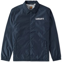 Carhartt College Coach Jacket Blue