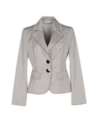 Maria Grazia Severi Blazers Light Grey