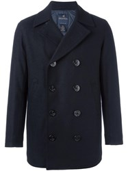 Brooks Brothers Double Breasted Jacket Blue