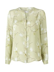 Eastex Magnolia Print Blouse Multi Coloured