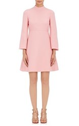 Valentino Women's Crepe Fit And Flare Dress Pink
