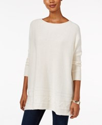 Styleandco. Style Co. Ribbed Cable Knit Sweater Only At Macy's Warm Ivory