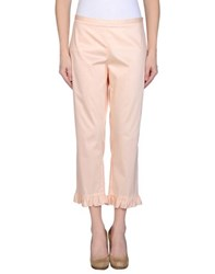 Moschino Cheap And Chic Moschino Cheapandchic Trousers 3 4 Length Trousers Women Light Pink