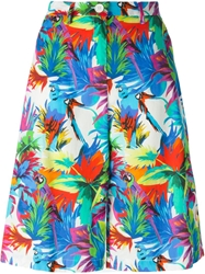 Love Moschino Tropical Print Shorts Multicolour