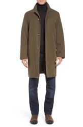 London Fog Men's Rain Coat Covert Green