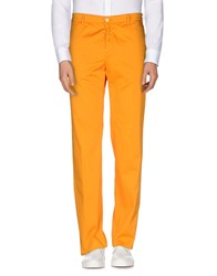 Reporter Trousers Casual Trousers Men Orange