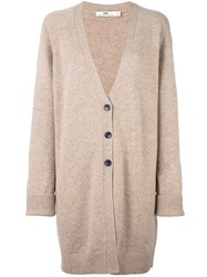 Hope 'All Cardy' Jumper Nude And Neutrals