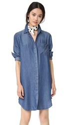 Rails Sawyer Button Down Shirtdress Dark Vintage