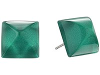 Alexis Bittar Pyramid Post Earrings Jungle Green Earring Olive