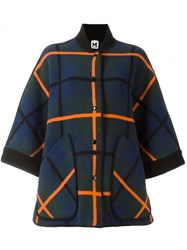 M Missoni Checked Oversized Coat Multicolour