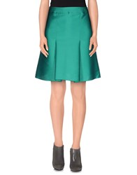 Francesco Scognamiglio Skirts Knee Length Skirts Women Emerald Green