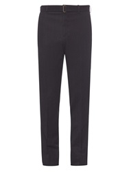 Cerruti Belted Wool Trousers