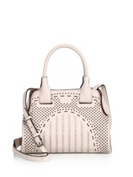 Tod's Cape Mini Studded Laser Cut Leather Satchel