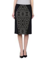 I'm Isola Marras Knee Length Skirts Black