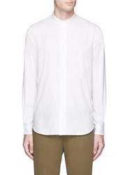 Paul Smith Mandarin Collar Shirt White