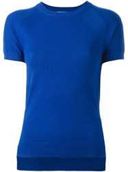 Michael Michael Kors Knitted T Shirt Blue
