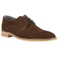 John Lewis Kin By Joel Suede Lace Up Derby Shoes Brown