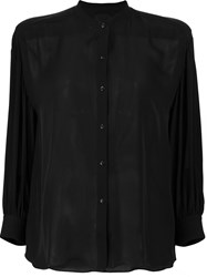 Nili Lotan Plain Shirt Black