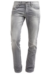 Japan Rags Straight Leg Jeans Grey