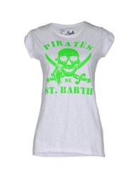 Mc2 Saint Barth T Shirts Light Green