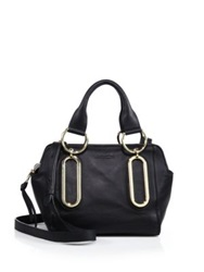 See By Chlo Paige Leather Mini Satchel Black