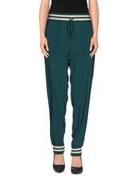 .Tessa Trousers Casual Trousers Women Green
