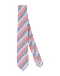 Hardy Amies Ties Red