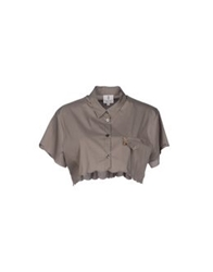 Only 4 Stylish Girls By Patrizia Pepe Shirts Grey