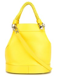 Sonia Rykiel Small 'Le Panier' Tote Bag Yellow And Orange