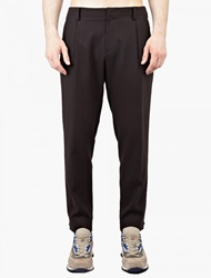 Wooyoungmi Black Zip Detail Trousers