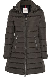 Moncler Orophin Quilted Shell Down Coat Army Green