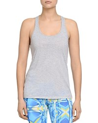 2Xist 2 X Ist Criss Cross Burnout Tank 100 Bloomingdale's Exclusive Gray Heather