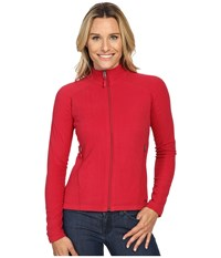 Marmot Rocklin Full Zip Jacket Persian Red Women's Clothing