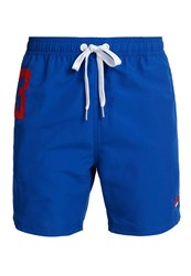 Superdry Premium Waterpolo Shorts Mid Blue