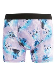 Topman Pink Cat Print Trunks