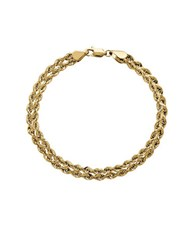 Lord And Taylor 14K Yellow Gold Twisted Rope Necklace