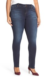 Kut From The Kloth Plus Size Women's 'Diana' Stretch Skinny Jeans Brisk