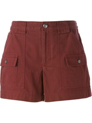 Marc By Marc Jacobs Side Pocket Shorts Red