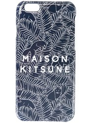 Maison Kitsune Logo Iphone 6 Case Blue