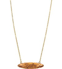 Annina Vogel 9Ct Yellow Gold Baby Bar Necklace