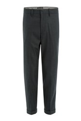 Vince Tapered Jersey Pants Grey
